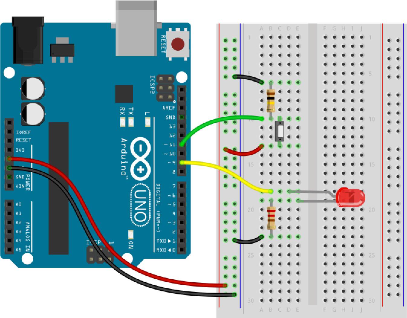 Arduino Button if Statement Part 2
