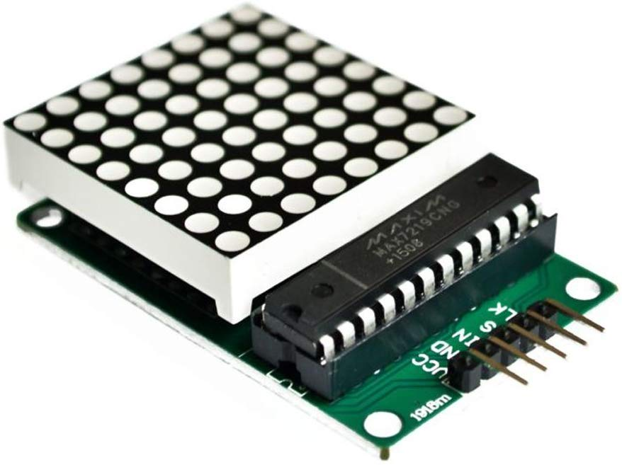 Arduino with MAX7219 IC
