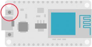 NodeMCU reset button