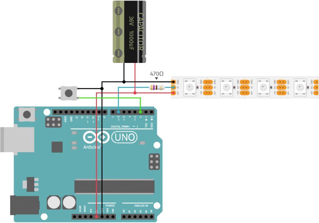 Arduino Valentine's Day Project: Romantic Wall Light Circuit