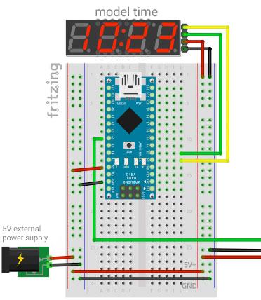 RaylFX Control Module Arduino Model Railway Model Railway Wiring Diagram