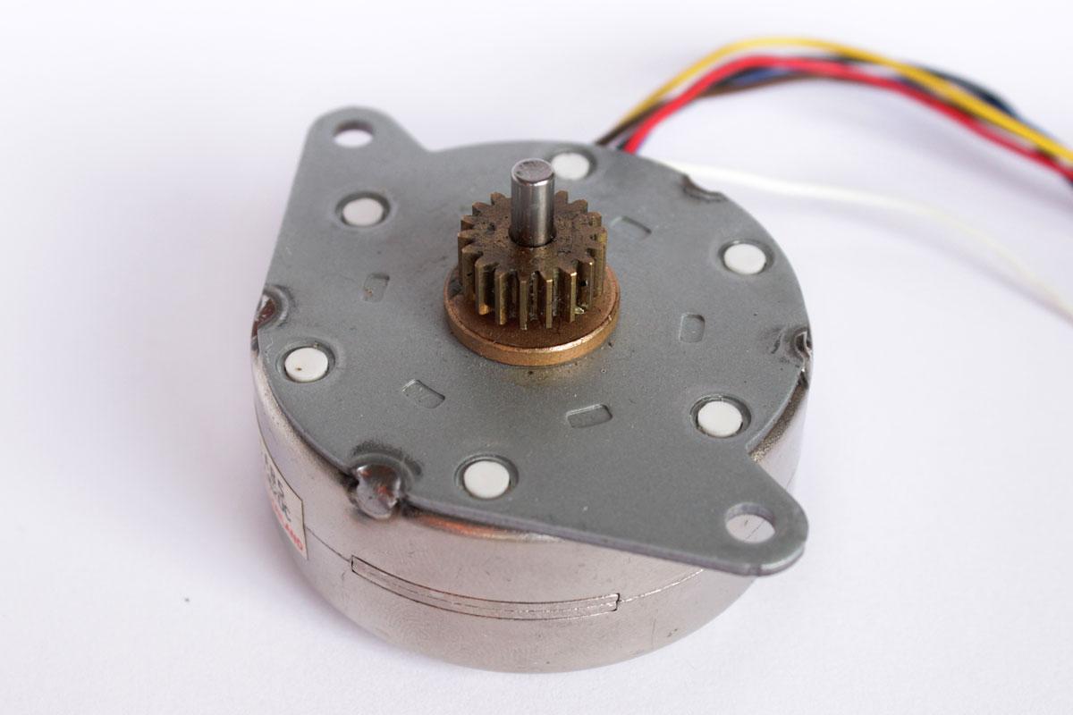 Motorsteuerung eines Schrittmotors (Stepper Motor)