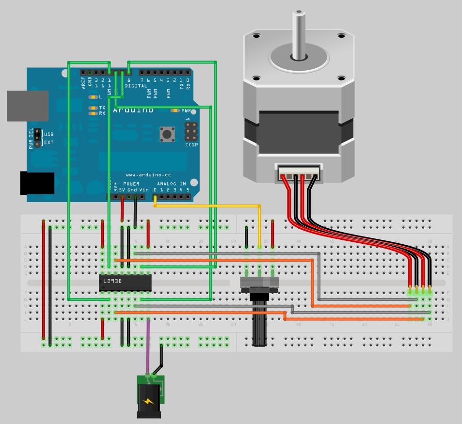 Stepper motor unipolar driver chopper circuit schematics for Cnc stepper motor controller circuit