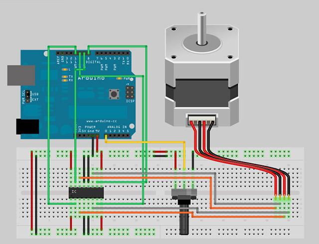 Schrittmotor - Arduino Tutorial