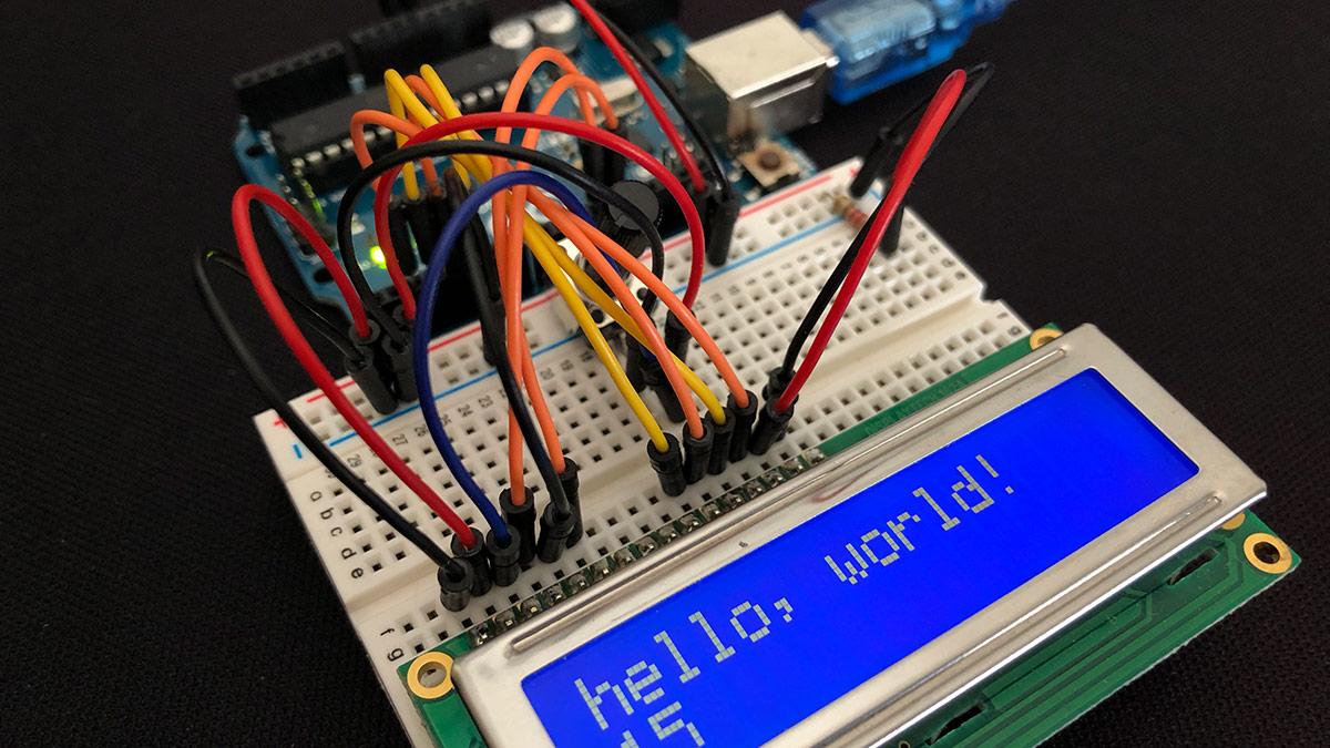 So steuert man ein LCD Display mit Arduino