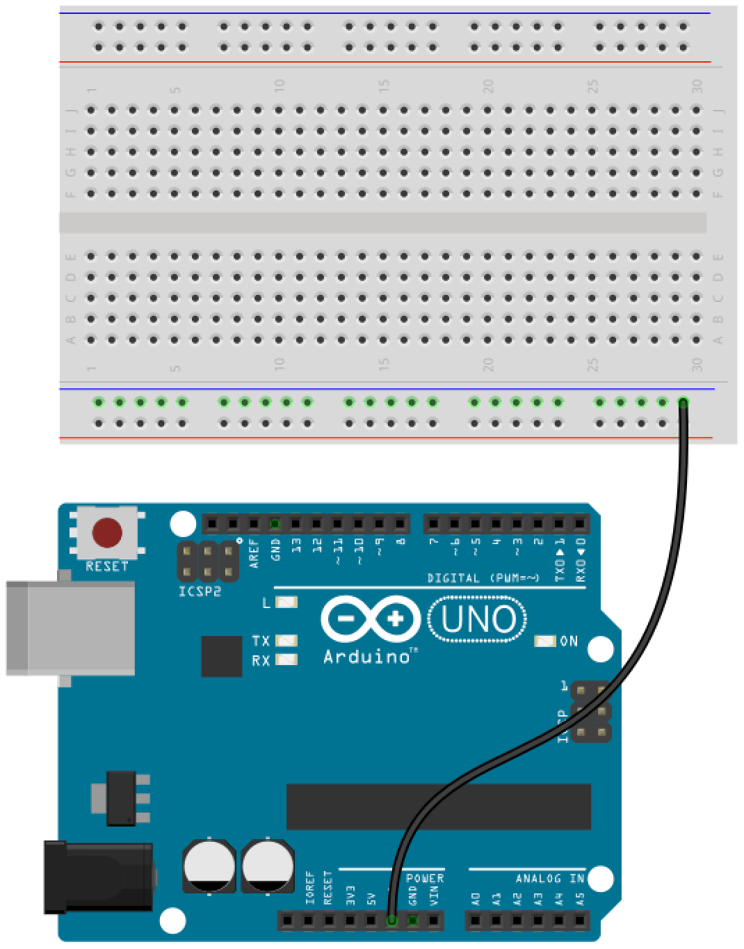 Arduino button circuit 1