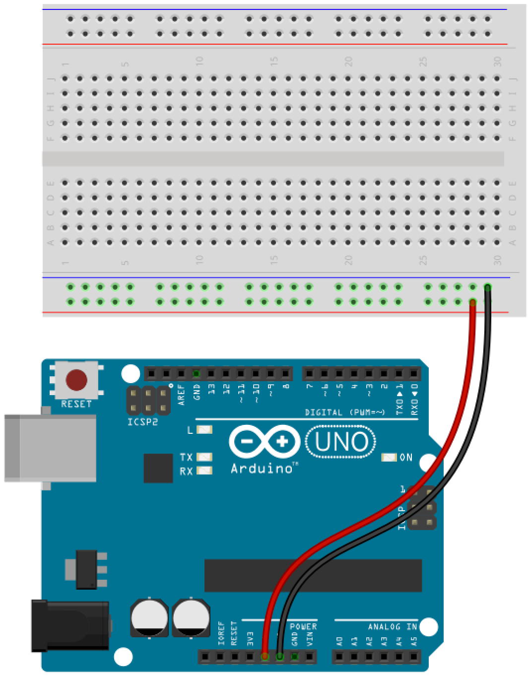 Arduino button circuit 2