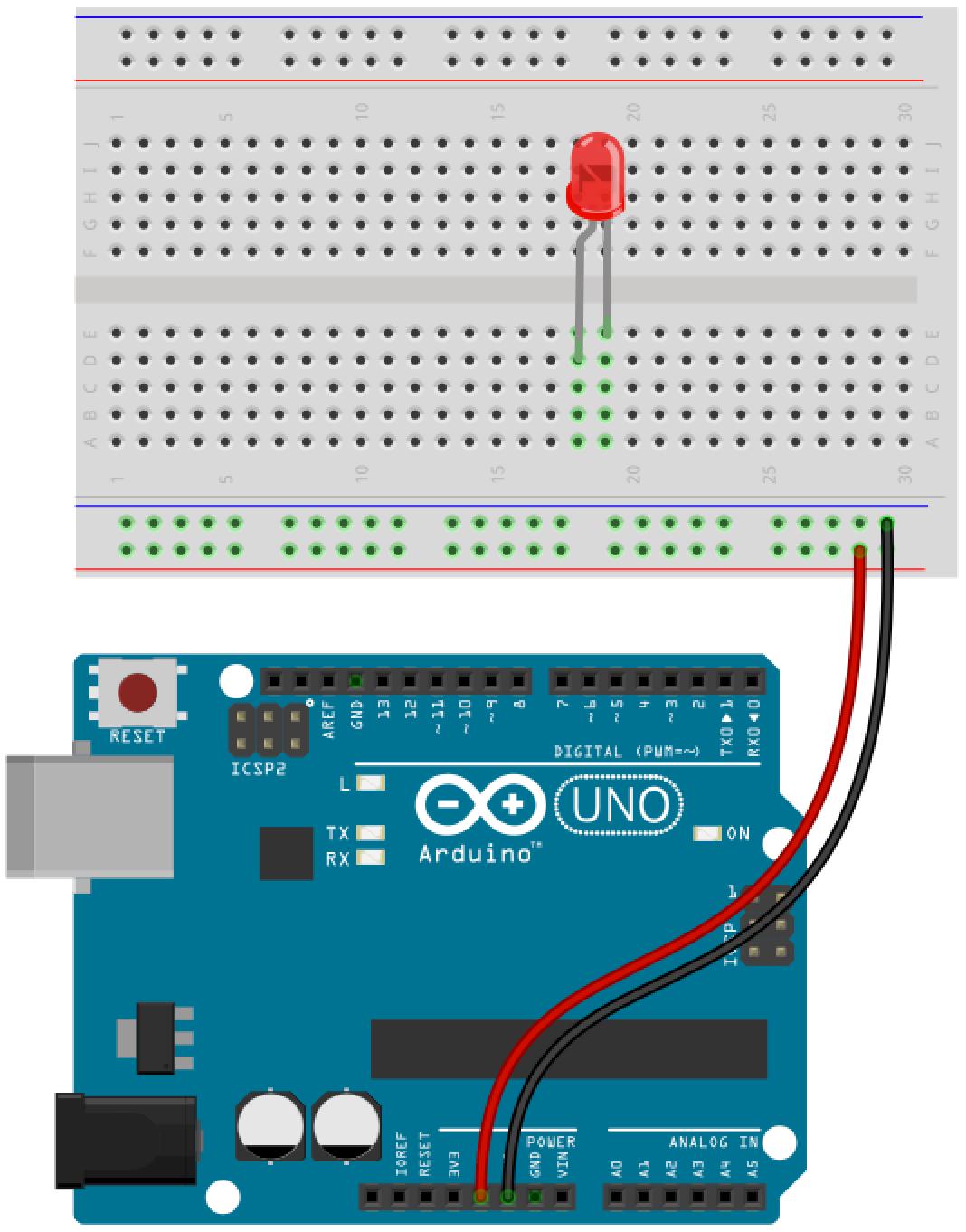 Arduino button circuit 3