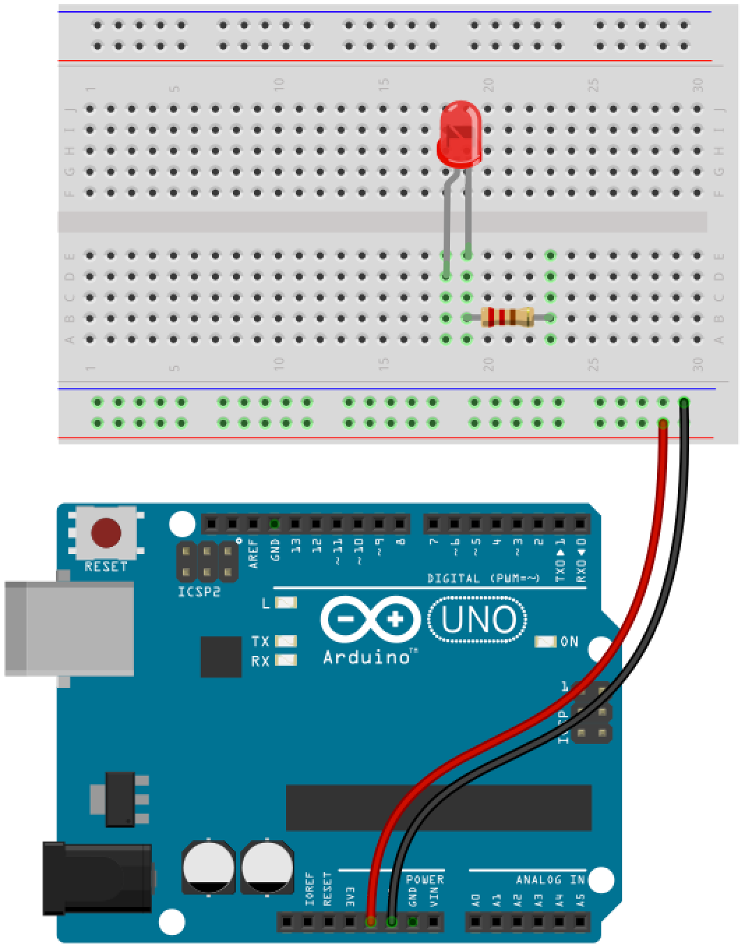 Arduino button circuit 4