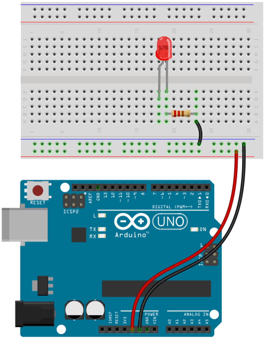 Arduino button circuit 5