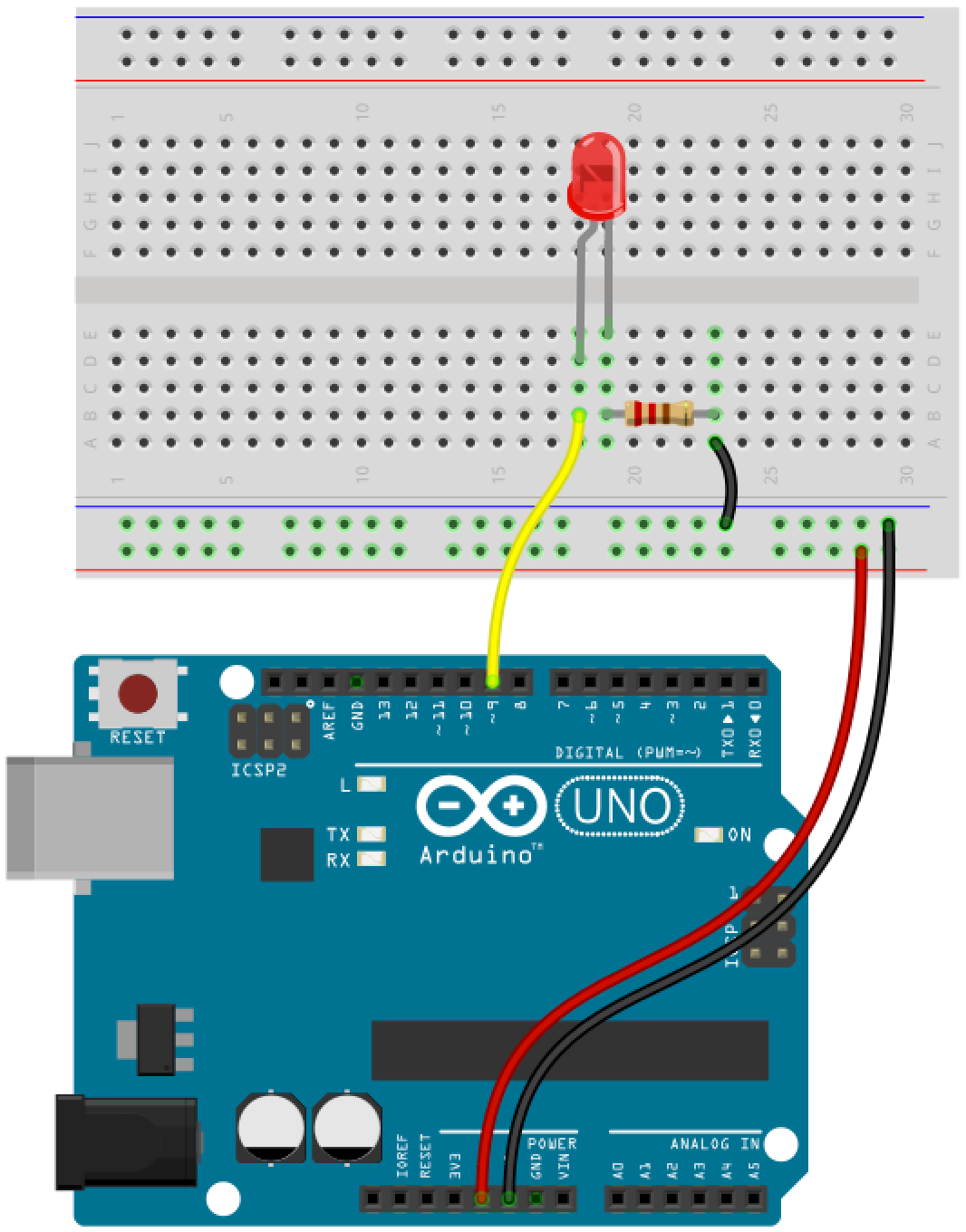 Arduino button circuit 6