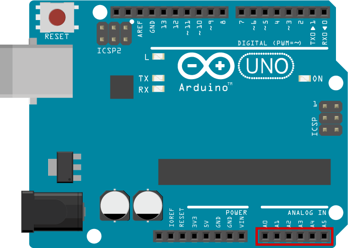 Arduino Analog Inputs