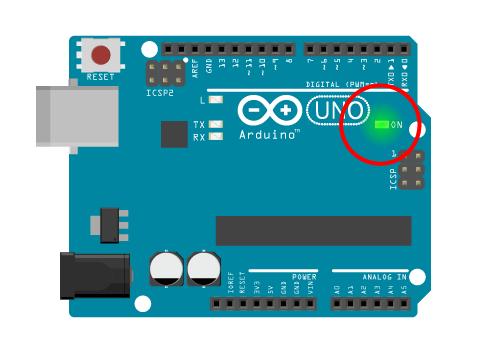 Arduino Board Power LED