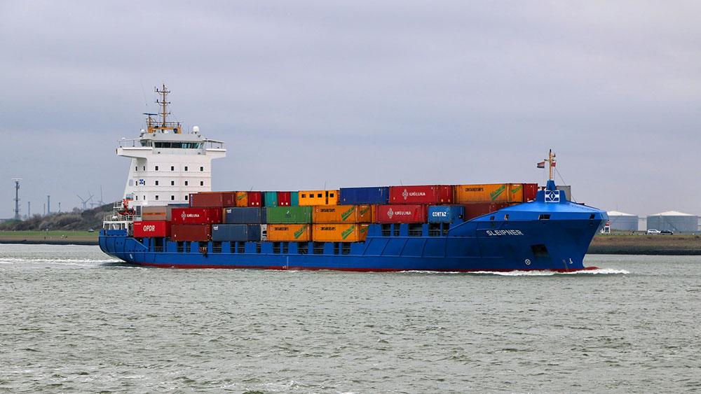 Ein Array als Containerschiff