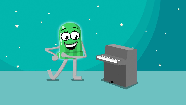 Lektion 16 – Ein-Tasten-Piano