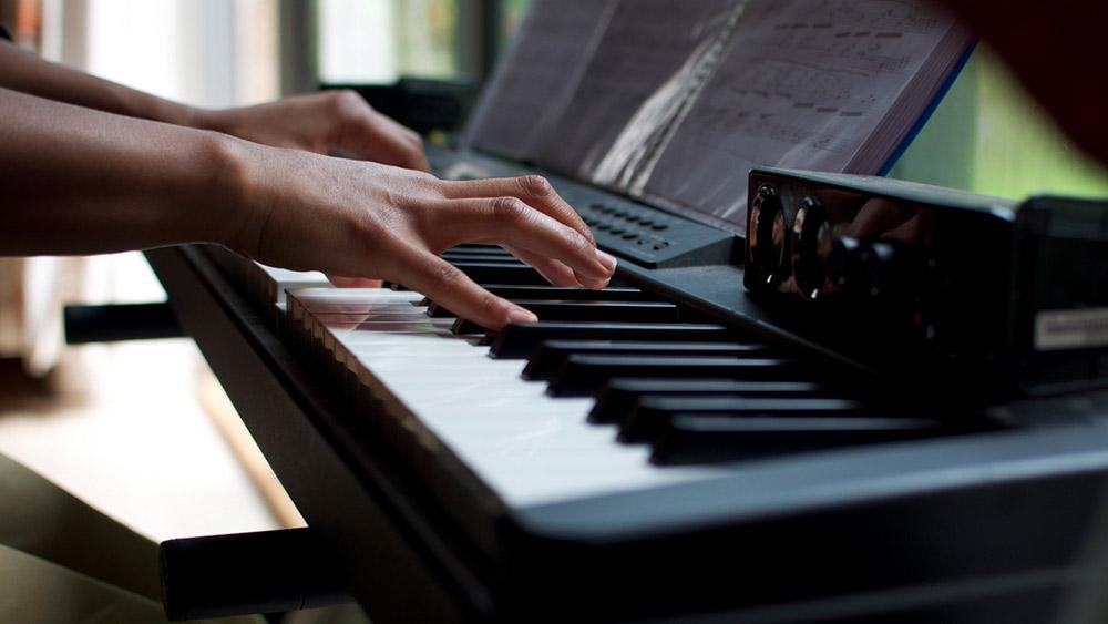 Ein Tasten Piano
