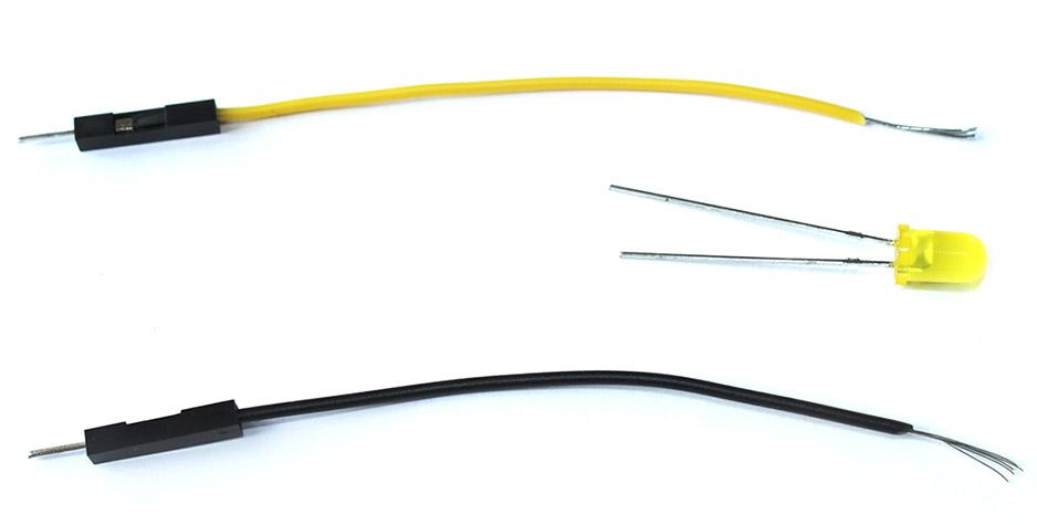 Kabel mit LED verbinden