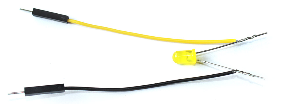 Kabel nach hinten biegen