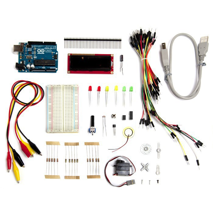 Starter kits start hardware