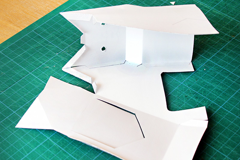paper models step by step