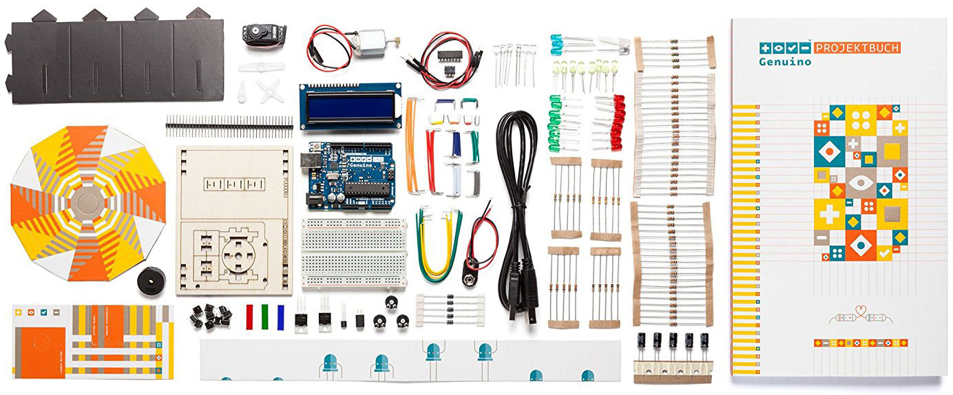 Arduino Starter Kits – Das Genuino Starter Kit