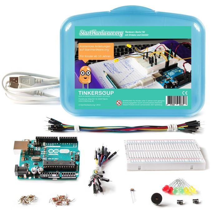 Starthardware.org Starter Kit mit Arduino