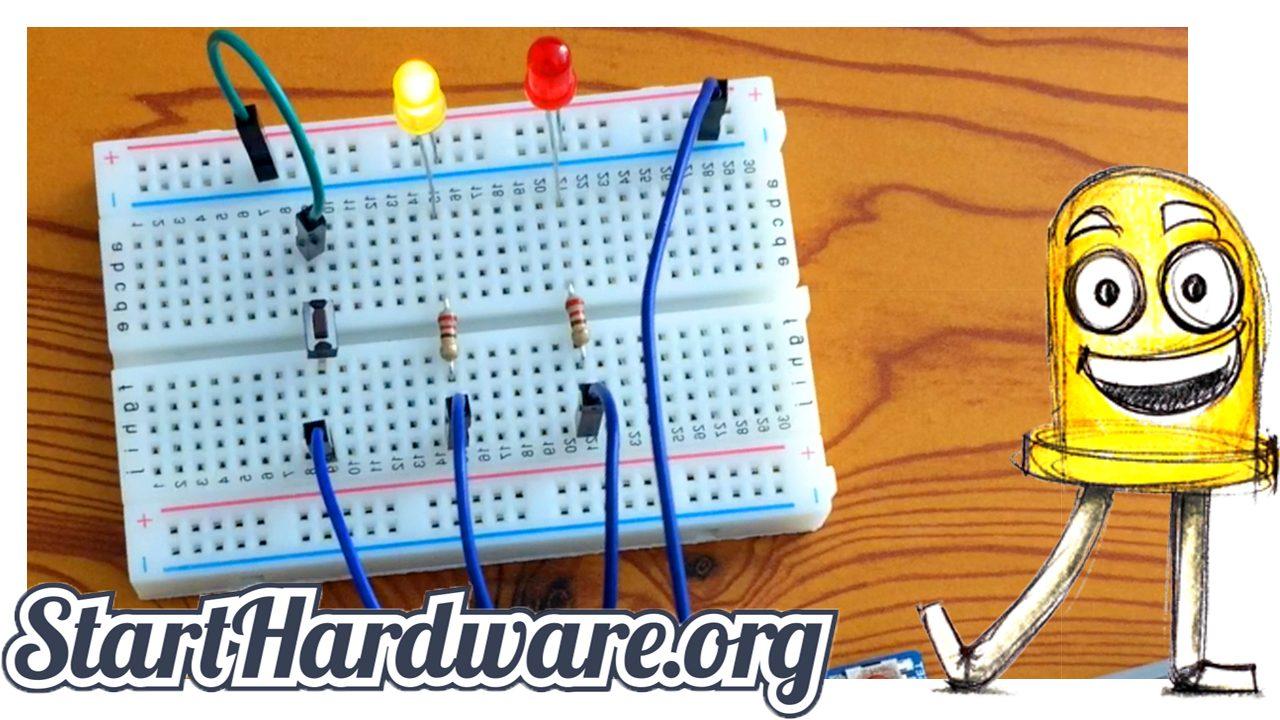 Wie liest man mit Arduino einen Taster aus?