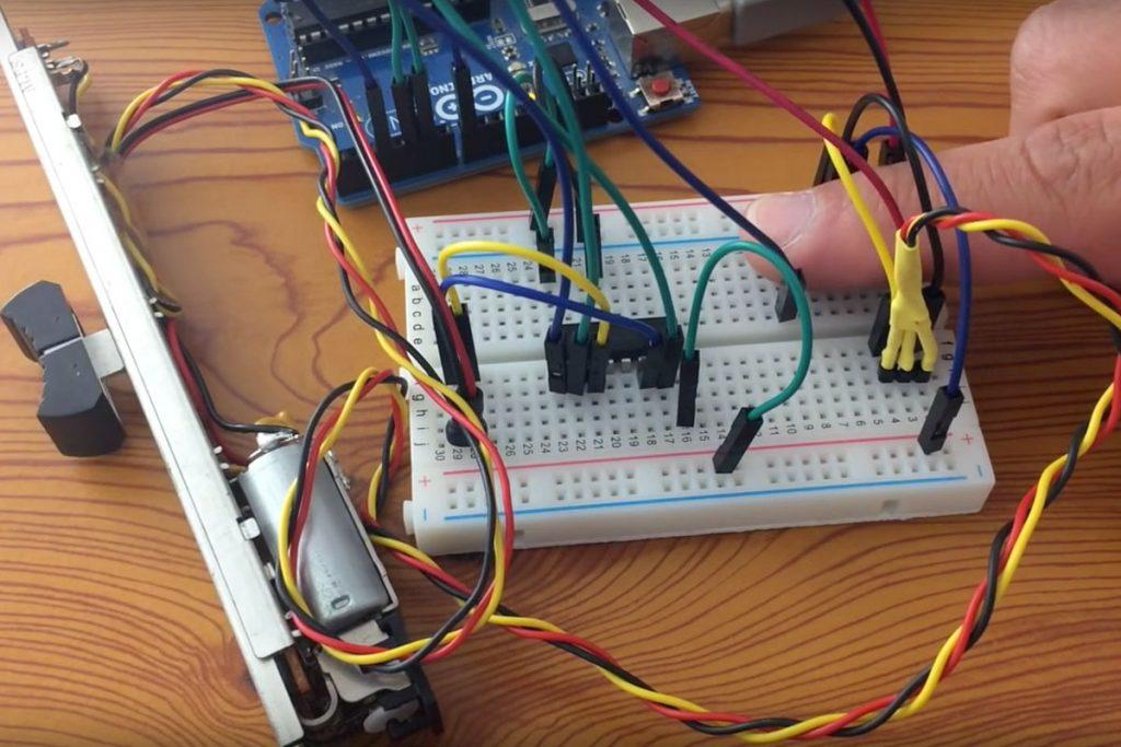 Arduino Motorfader