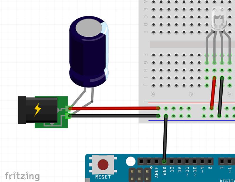 WS2812 Stromversorgung