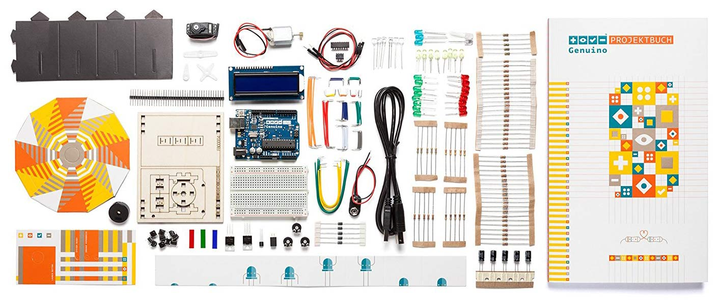 genuino/arduino starter kit