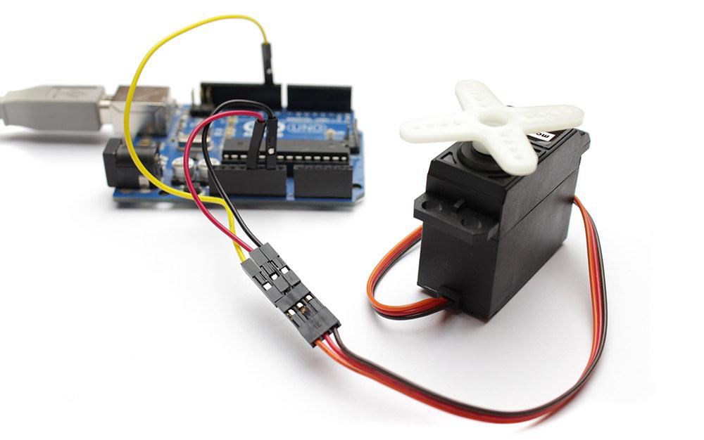 Arduino und der Servo-Motor