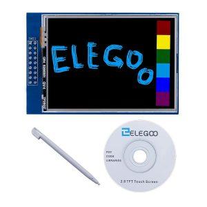 """Elegoo Uno R3 2.8"""" TFT Touch Screen mit SD Card Socket und alle Technische Daten In CD für Arduino UNO R3"""