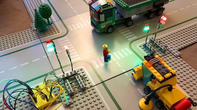 Arduino Ampel mit Lego