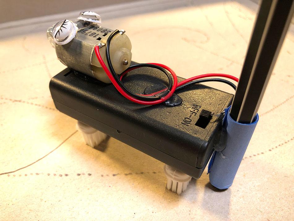 Drawbots MK3 mit Batteriefach