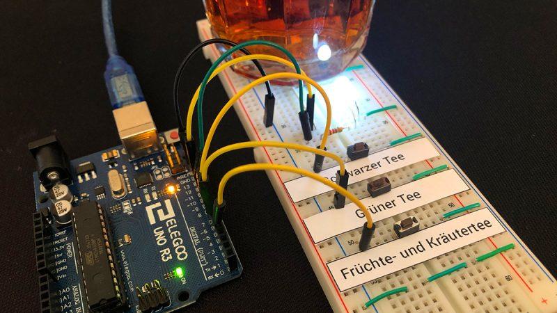 Tee Timer mit Arduino