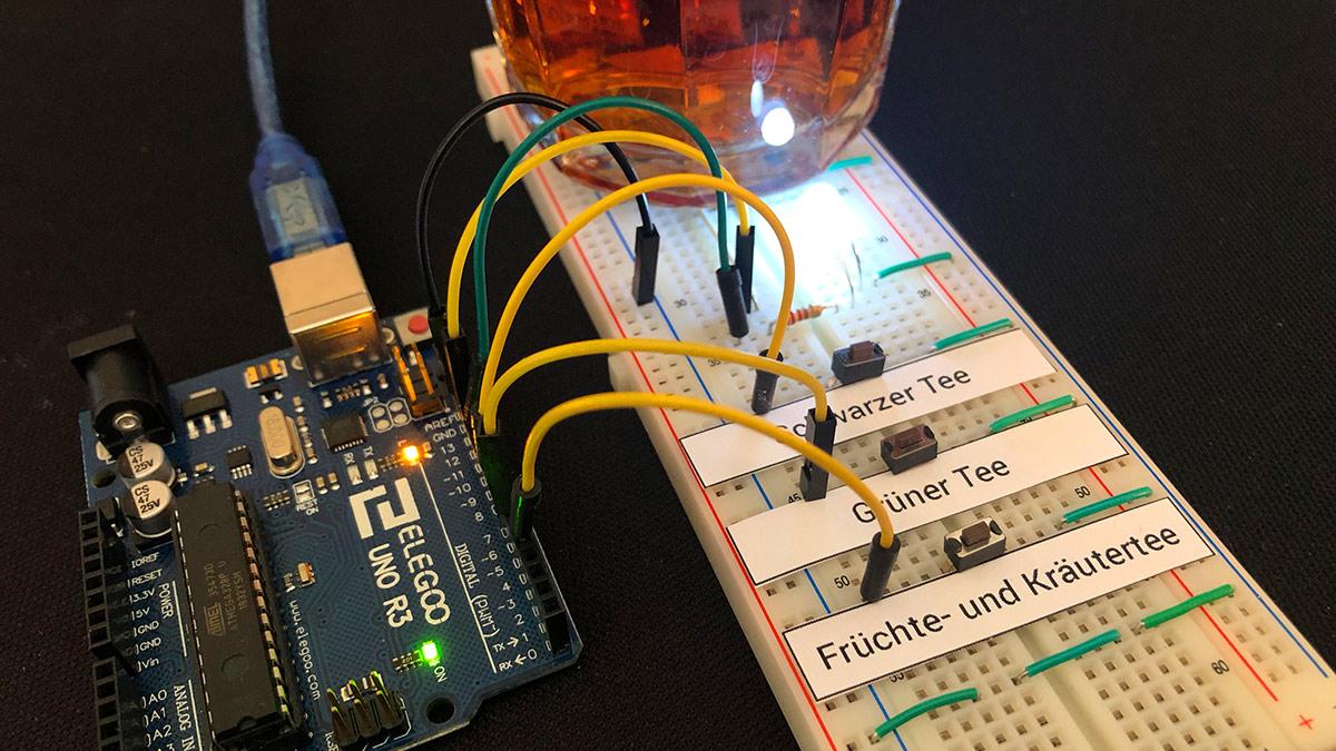 Tee-Timer mit Arduino