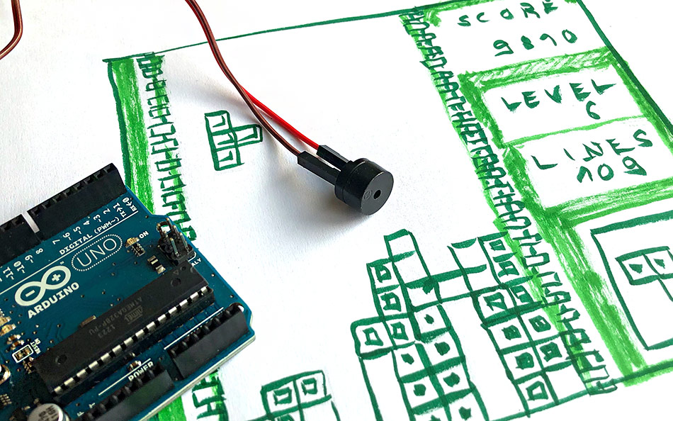 Tetris-Melodie mit Arduino
