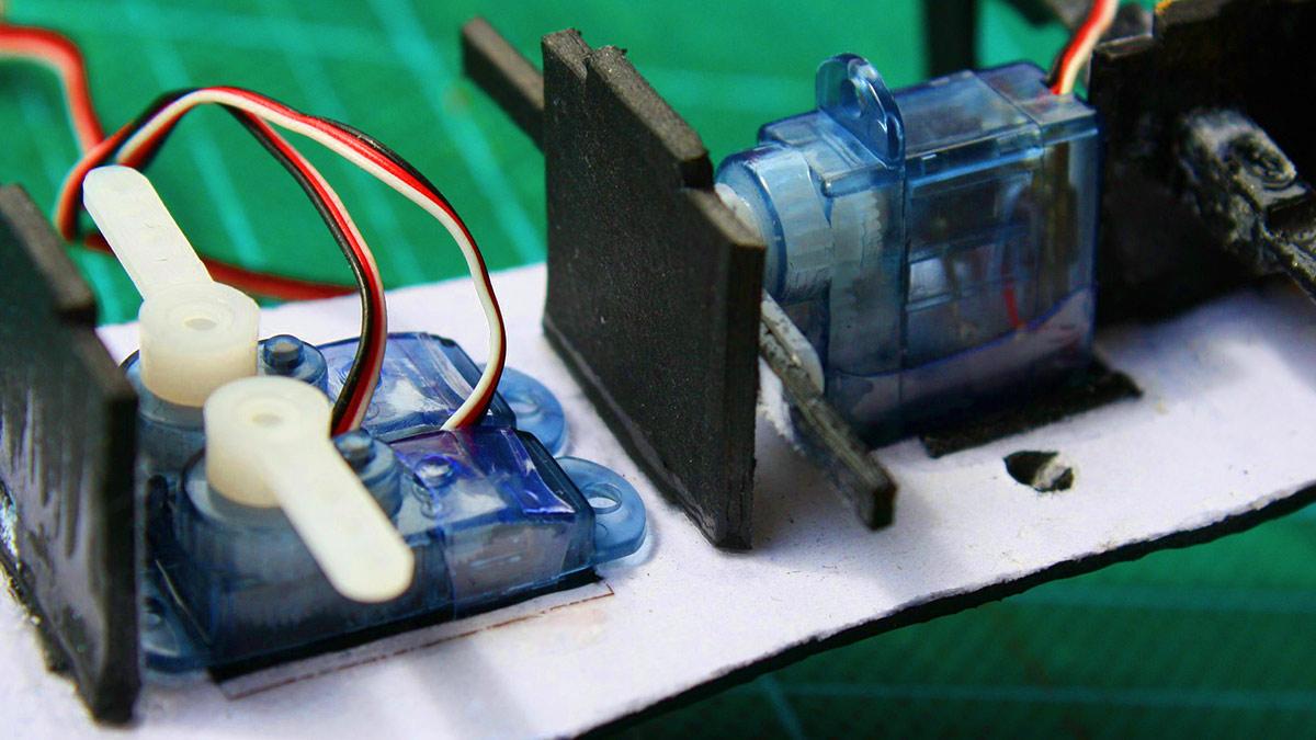 Viele Servos mit Arduino steuern