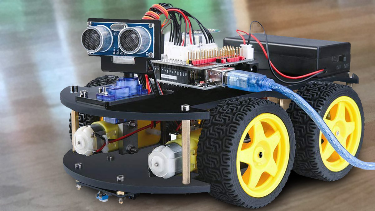 Arduino Roboter – Mit diesem Bausatz kein Problem