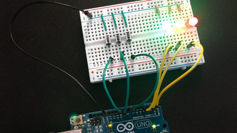 Arduino viele Buttons auslesen Titel