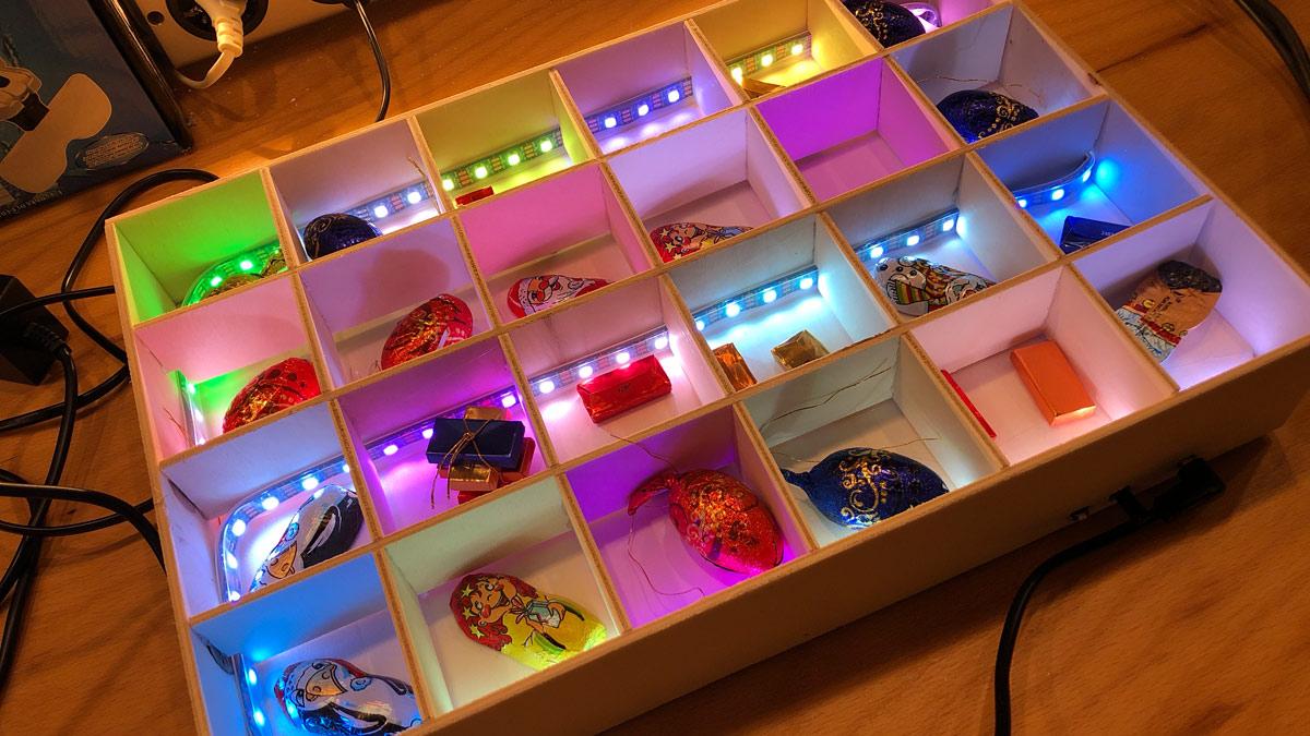 Arduino Adventskalender Leuchtend