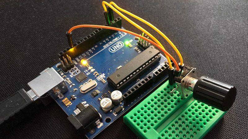 Arduino Encoder Drehimpulsgeber