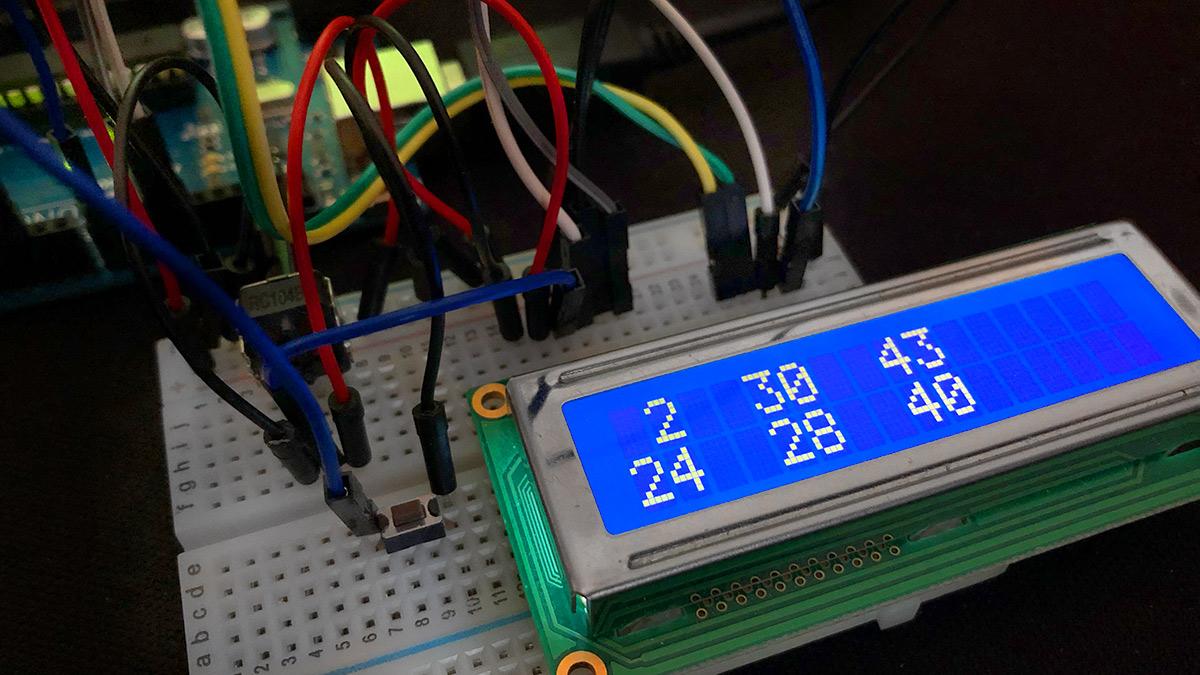 Arduino Lottozahlengenerator