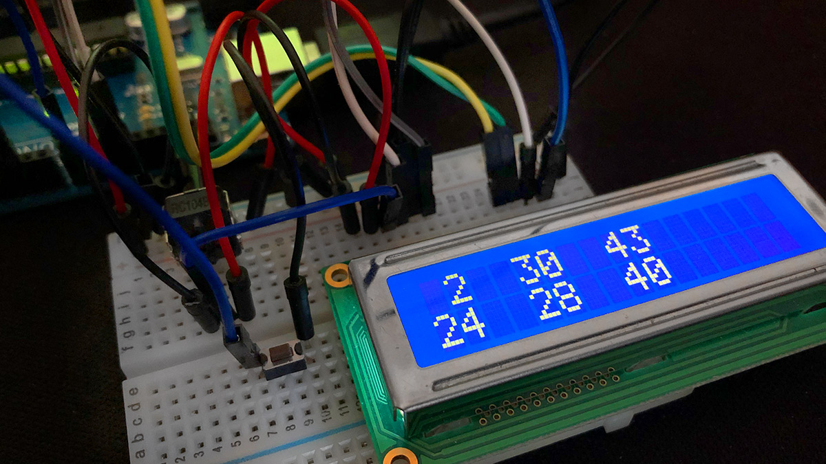 Arduino Lottozahlen-Generator