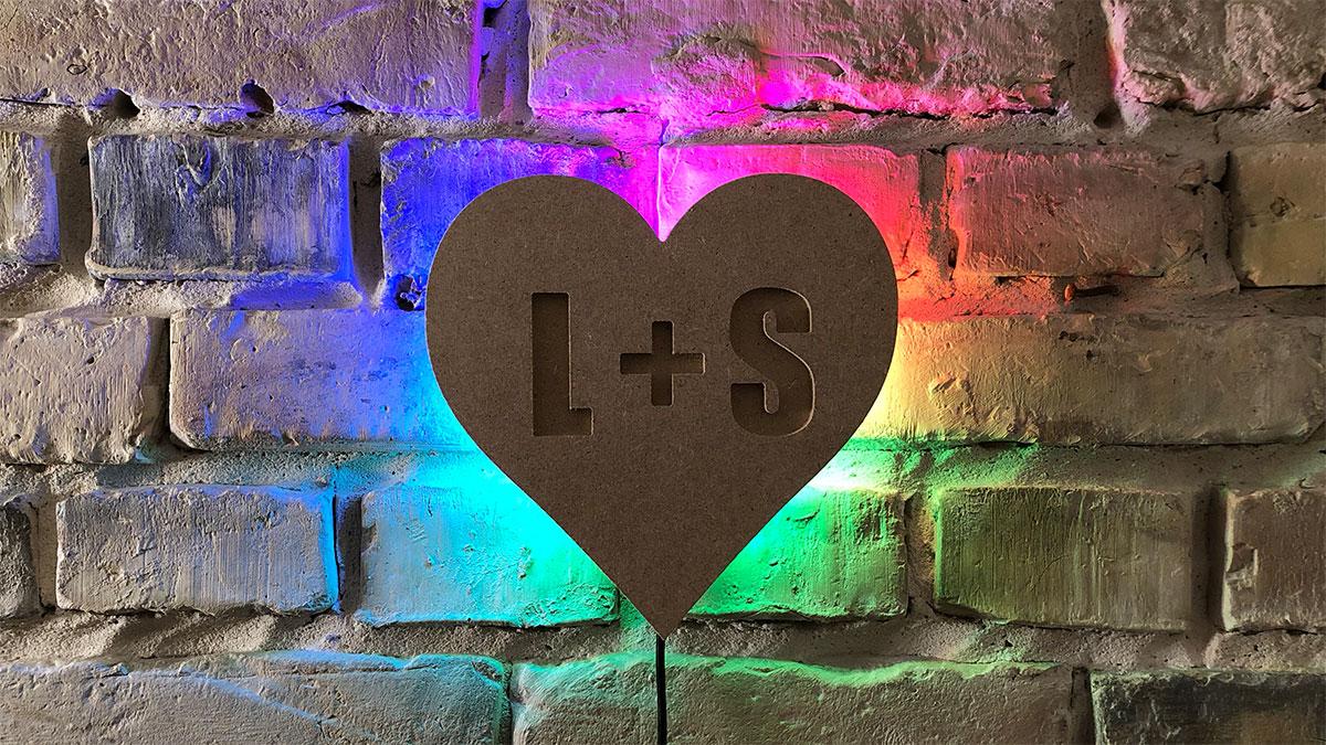 Arduino Valentinstag: Romantisches Wandlicht