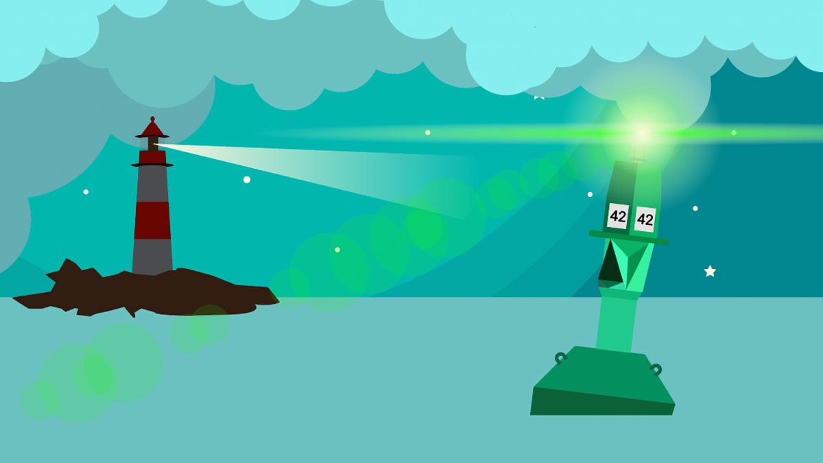 Arduino Projekt Leuchtturm Leuchtfeuer Tonne Modellbahn