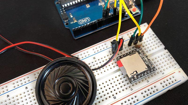 DFPlayer Arduino Title
