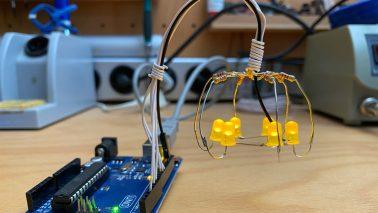 Kronleuchter mit Arduino Titelbild