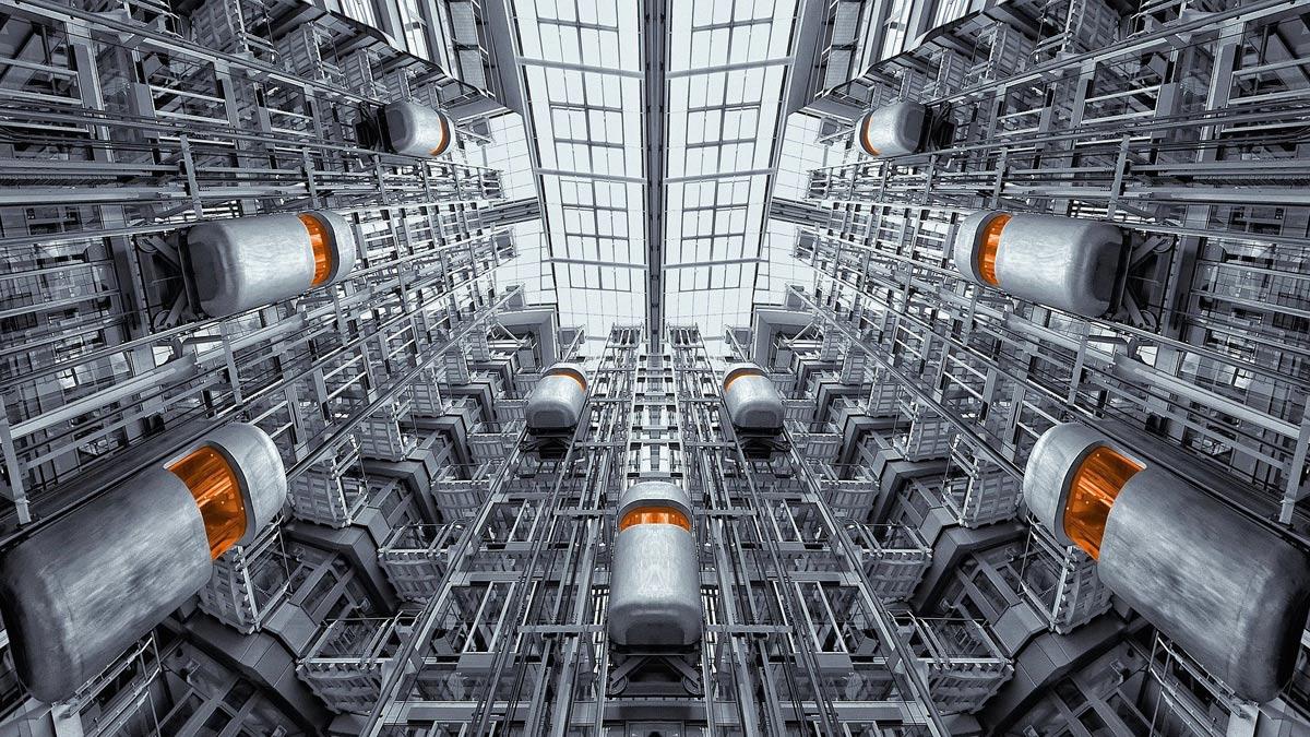Automatischer Arduino Aufzug für ein Hochhausmodell
