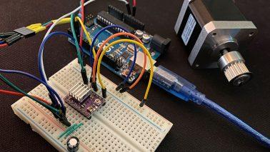 Arduino DRV8825 Stepper Schrittmotor Treiber